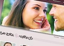 hochzeit zweisprachige webseite - Hochzeitshomepage Beispiele