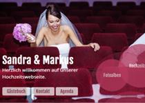 hochzeit vollbild hintergrund und optimiert fr mobile gerte - Hochzeitshomepage Beispiele